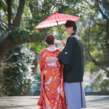【雑誌掲載】「鰻割烹伊豆栄梅川亭」さんで和装の人前式