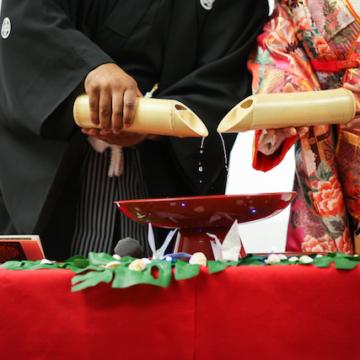 和婚におすすめの伝統的な演出「 水合わせの儀 」